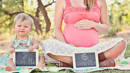 идея для фотокниг - беременность