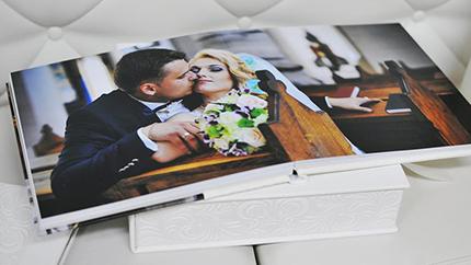 идея для свадебной фотокниги