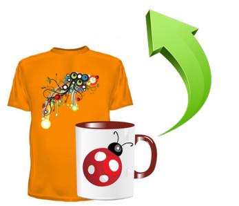 програма редактор для футболок, календарів і чашок