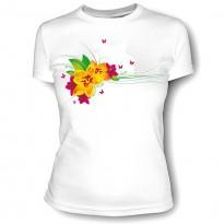 женская футболка с фотографией