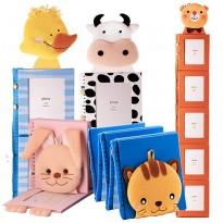 Рамка - ростомерка в форме мягкой игрушки. Для 5 фото 10x15 см.